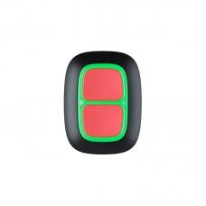 Беспроводная тревожная кнопка Ajax DoubleButton black