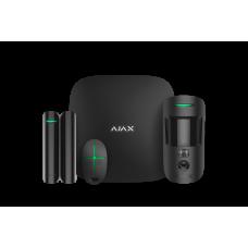 Стартовый комплект сигнализации Ajax StarterKit Cam black