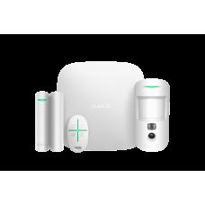 Стартовый комплект сигнализации Ajax StarterKit Cam Plus white